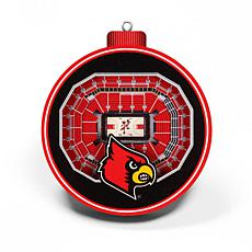 Officially Licensed NCAA 3D StadiumView Ornament 2-pack - Louisville