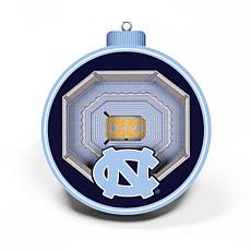 Officially Licensed NCAA 3D StadiumView Ornament 2-pack-North Carolina
