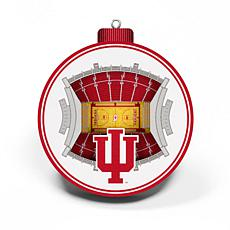 Officially Licensed NCAA 3D StadiumView Ornament 2-pack - Indiana