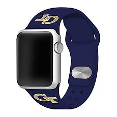 Officially Licensed NCAA Apple Watch Band - GA Tech(38/40mm Navy)