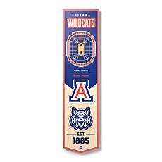 Officially Licensed NCAA Arizona Wildcats 3D Stadium Banner