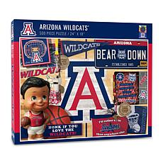 Officially Licensed NCAA Arizona Wildcats Retro 500-Piece Puzzle