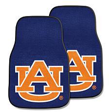 Officially Licensed NCAA Auburn University Carpet Car Mat 2-Piece Set