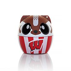 Officially Licensed NCAA Bitty Boomers Bluetooth Speaker - Wisconsin