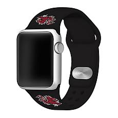 Officially Licensed NCAA Black 38/40MM Apple Watch Band- SC Gamecocks