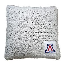 Officially Licensed NCAA by Logo Chair Frosty Throw Pillow - Arizona