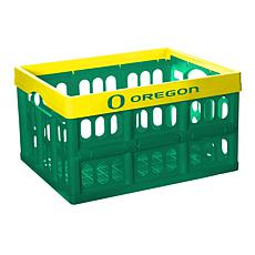 Officially Licensed NCAA Collapsible Crate - Oregon