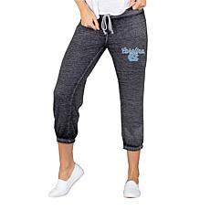 Officially Licensed NCAA Concepts Sport Ladies Knit Capri Pant - UNC
