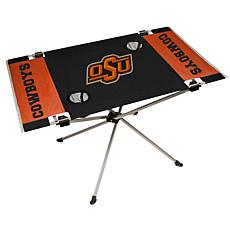 Officially Licensed NCAA Endzone Folding Tailgate Table - OK  State