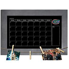 Officially Licensed NCAA Florida Monthly Chalkboard w/ Clothespins