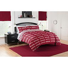 Officially Licensed NCAA Full Bed in a Bag Set - Indiana Hoosiers