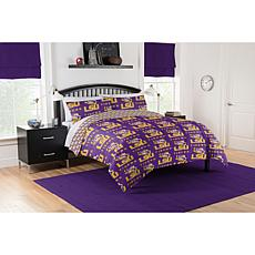 Officially Licensed NCAA Full Bed in a Bag Set - LSU Tigers
