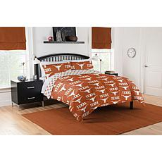 Officially Licensed NCAA Full Bed in a Bag Set - Texas Longhorns