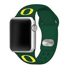 Officially Licensed NCAA Green 38/40MM Apple Watch Band - Oregon Du...