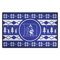 Officially Licensed NCAA Holiday Sweater Mat - Duke University