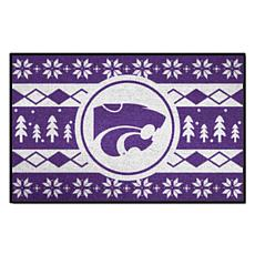 Officially Licensed NCAA Holiday Sweater Mat - Kansas State University