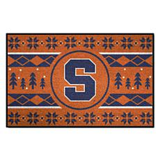 Officially Licensed NCAA Holiday Sweater Mat - Syracuse University