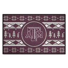 Officially Licensed NCAA Holiday Sweater Mat - Texas A&M