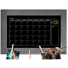 Officially Licensed NCAA Iowa Monthly Chalkboard w/ Clothespins