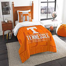 Officially Licensed NCAA Modern Take Twin Comforter Set - Tennessee