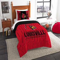 Officially Licensed NCAA Modern Take Twin Comforter Set - Louisville