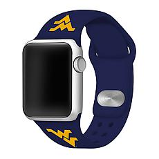 Officially Licensed NCAA Navy 42/44MM Apple Watch Band- WV Mountain...