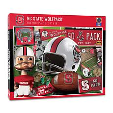 Officially Licensed NCAA NC State Wolfpack Retro 500-Piece Puzzle