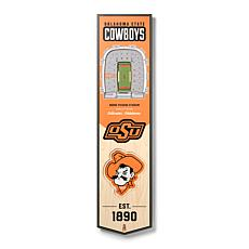 Officially Licensed NCAA Oklahoma State Cowboys 3D Stadium Banner