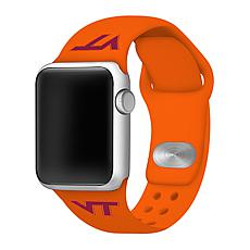 Officially Licensed NCAA Orange 42/44MM Apple Watch Band - VA Tech