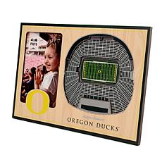 Officially Licensed NCAA Oregon Ducks 3-D StadiumViews Picture Frame