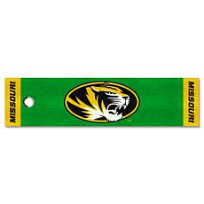 Officially Licensed NCAA Putting Green Mat - University of Missouri