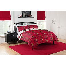Officially Licensed NCAA Queen Bed in a Bag Set - Louisville Cardin...