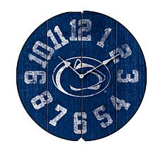 Officially Licensed NCAA Round Clock