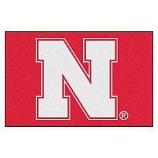 Officially Licensed NCAA Rug - University of Nebraska