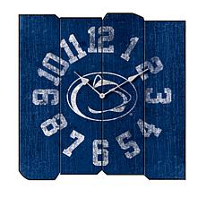 Officially Licensed NCAA Square Clock