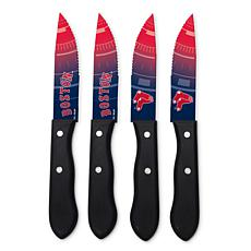 Officially Licensed NCAA Steak Knife Set - Boston Red Sox