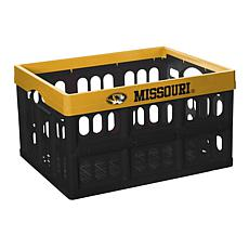 Officially Licensed NCAA Team Collapsible Crate - Missouri