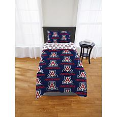 Officially Licensed NCAA Twin XL Bed in a Bag Set - Arizona Wildcats