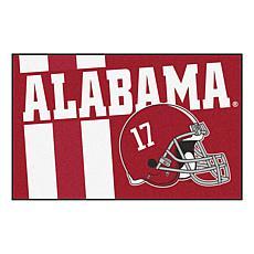 Officially Licensed NCAA Uniform Rug - University of Alabama
