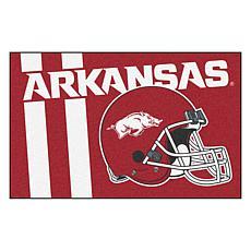 Officially Licensed NCAA Uniform Rug - University of Arkansas