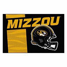 Officially Licensed NCAA Uniform Rug - University of Missouri