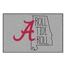 """Officially Licensed NCAA Univ. of Alabama 19"""" x 30"""" Southern Style Rug"""