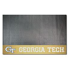 Officially Licensed NCAA Vinyl Grill Mat - Georgia Tech University