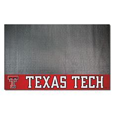 Officially Licensed NCAA Vinyl Grill Mat - Texas Tech University