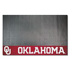 Officially Licensed NCAA Vinyl Grill Mat - University of Oklahoma
