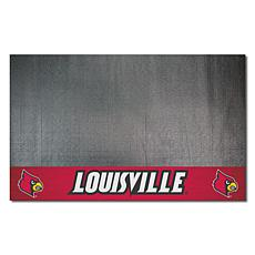 Officially Licensed NCAA Vinyl Grill Mat - University of Louisville