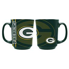 Officially Licensed NFL 11 oz. Reflective Mug - Green Bay Packers