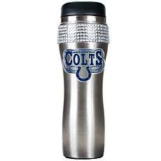 Officially Licensed NFL 14 oz. Travel Tumbler - Colts