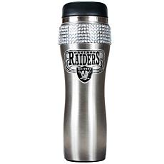 Officially Licensed NFL 14 oz. Travel Tumbler-Oakland