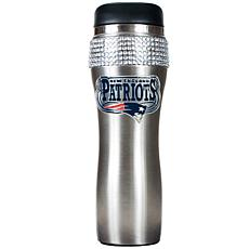 Officially Licensed NFL 14 oz. Travel Tumbler-Patriots